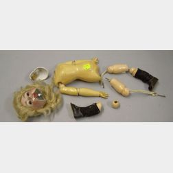 Simon & Halbig Lady Doll's Jointed Composition Body