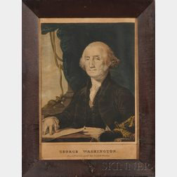 Nathaniel Currier, publisher (American, 1813-1888) Lot of Eight Works: Seven Portraits of Presidents of t...