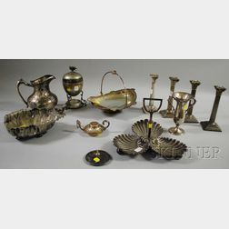 Group of Silver-plated Table and Decorative Items