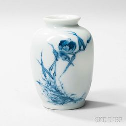 Small Blue and White Vase