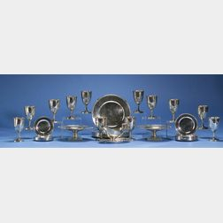 Large Gorham Sterling Silver Table Service