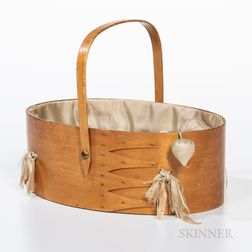 Shaker Oval Sewing Carrier
