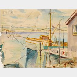 Lois Mailou Jones (American, 1905-1998)      Harbor View/ Martha's Vineyard