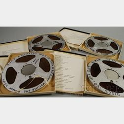 Eleven Duke Ellington Reel-to-Reel Recordings and Thirteen Assorted Vintage   Pre-recorded Reel-to-Reel Tapes
