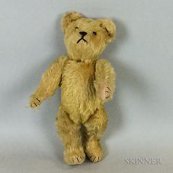 Vintage Blonde Mohair Teddy Bear