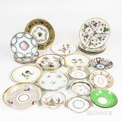 Group of Porcelain Dishes