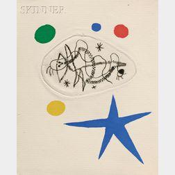 Max Ernst (German, 1891-1976), Joan Miró (Spanish, 1893-1983) and Yves Tanguy (French/American, 1900-1955), illustrators  LAntitête, b