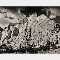 Ernest Knee (American, 1907-1982)      Navajo Canyon of Abiquiu.