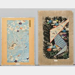 Four Embroidered Textile Samples