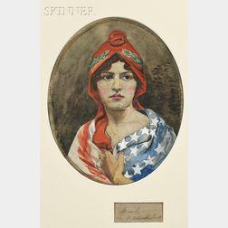 Raymond Ostrander Smith (1873-1933)      Allegory of Liberty