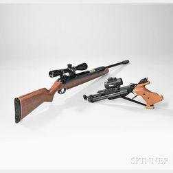 Two Competition Air Guns