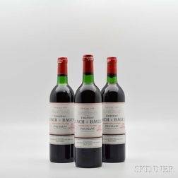 Chateau Lynch Bages 1982, 3 bottles