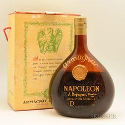Armagnac Dupeyron Napoleon, 1 liter bottle (oc)