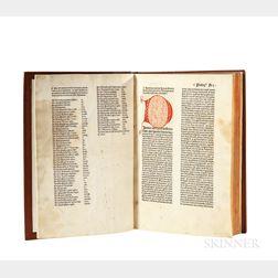 Leonardus de Utino (1400-1470) Sermones de Sanctis.