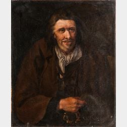 Dutch School, 17th Century      Man in Workman's Clothes, Missing a Front Tooth
