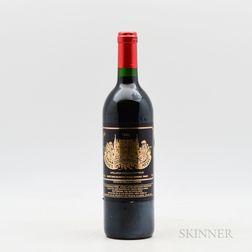 Chateau Palmer 1989, 1 bottle