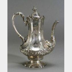 New York Coin Silver Coffee Pot