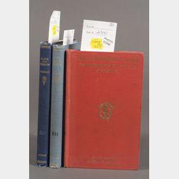 Teasdale, Sara (1884-1933), Three Titles, Signed