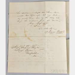 Hull, Isaac (1773-1843) Autograph Letter Signed, 16 November 1831.