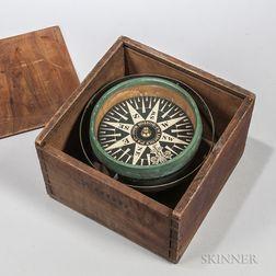F.W. Lincoln Jr. & Co. Boxed Compass