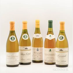 Mixed White Burgundy, 5 bottles