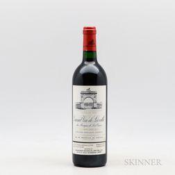 Chateau Leoville Las Cases 1995, 1 bottle