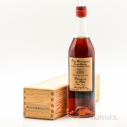 Domaine de Guillemonta (Francis Darroze, Domain de Salle) Bas Armagnac) 1979, 1 bottle (owc) Spirits cannot be shipped. Please see h...