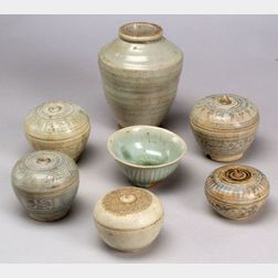 Seven Southeast Asian Ceramics