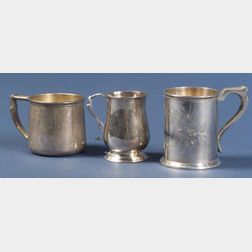 Three Silver Mugs