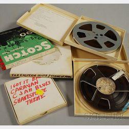 Five Duke Ellington Reel-to-Reel Recordings