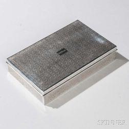 Tiffany & Co. Sterling Silver Cigarette Box