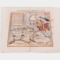 Africa. Sebastian Munster after Ptolemy. Aphricae Tabula II