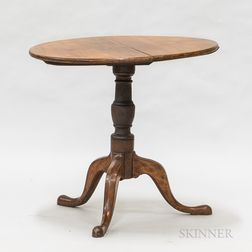 Queen Anne Cherry Tilt-top Tea Table