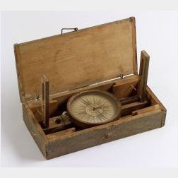 Surveyor's Vernier Compass by George Leighton Whitehouse