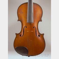 American Violin, M. Potvin, Woonsocket, 1925