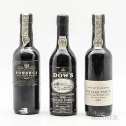 Mixed Port Demi Bottles, 3 demi bottles