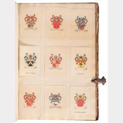 Heraldic Album, 19th Century.