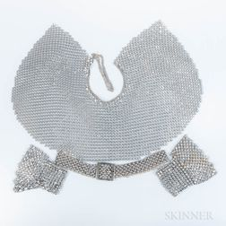 Aluminum Bib, Wristlets, and Belt