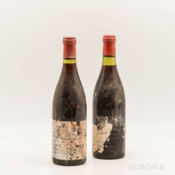 Michel & Henri Noellat Clos Vougeot 1971, 2 bottles