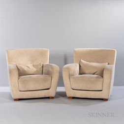 Pair of Ligne Roset Club Chairs