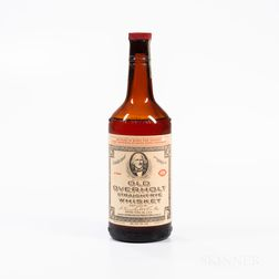 Old Overholt 1938, 1 4/5 quart bottle