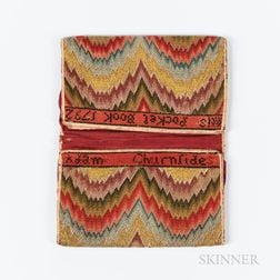 Flame-stitch Needlework Pocketbook