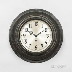 "Bronze Chelsea ""Special Dial"" Gallery Clock"