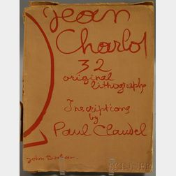 Jean Charlot (American/French, 1898-1979)      Picture Book:  32 Original Lithographs