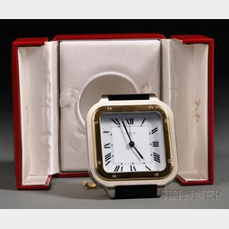 "Cartier ""Santos de Cartier"" Travel Clock"