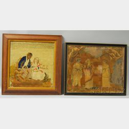 Two Needlework Pictures