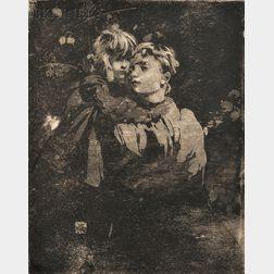 William Lee-Hankey (British, 1869-1952)      Two Scenes