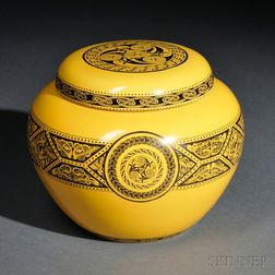 Wedgwood Celtic Ornaments   Design Malfrey Pot and Cover