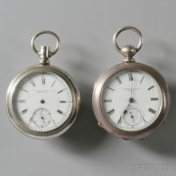 Two Open Face Watches