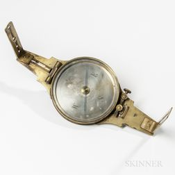 Rare Jonas Horton Phelps Vernier Compass